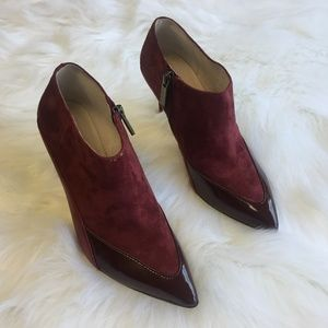 Louise et Cie Maroon bootie/size 6.5